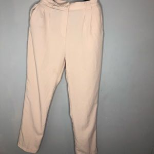 Pants - Pale Pink Trousers